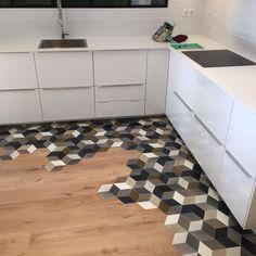 Rubber Floor Tiles Home . Rubber Floor Tiles Home . 47 Fabulous Floor Tiles Designs Ideas for Living Room with Kitchen Tiles, Kitchen Flooring, Tile Flooring, Floors, Floor Design, Tile Design, Design 24, Honeycomb Tile, Ideas Hogar