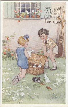 Hester Margetson (1890-1963) postcard