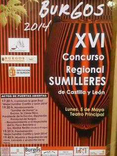 XVI Concurso Regional de Sumilleres Burgos5/5/2014