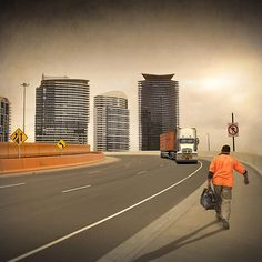 """""""End of shift"""" by Adrian Donoghue   RedBubble"""