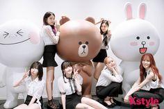 Korean Group, Korean Girl Groups, Kim Ye Won, Jung Eun Bi, Entertainment, G Friend, Love Bugs, South Korean Girls, Mickey Mouse