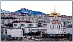 Magadan, where I learned through painful experience that centigrade and fahrenheit thermometers converge at -40. It was mind numbingly cold, but the people were so warm and friendly. Although they had almost nothing, they shared everything with us.