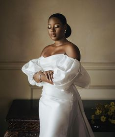 Wedding Bells, Wedding Gowns, Wedding Day, Wedding Guest Style, African Traditional Dresses, Classy Women, Wedding Makeup, Marie, Wedding Planning