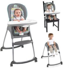 Ingenuity Trio High Chair, Avondale The Ingenuity Trio High Chair is designed to grow with your baby all the way through the toddler years! Cute Desk Chair, Diy Chair, Best High Chairs, Toddler Chair, Round Chair, Baby Center, Cool Chairs, Desk Chairs, Dining Chairs
