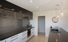 Showhome Kitchen | Burwood Christchurch | G.J. Gardner Homes | Gloss Cabinets