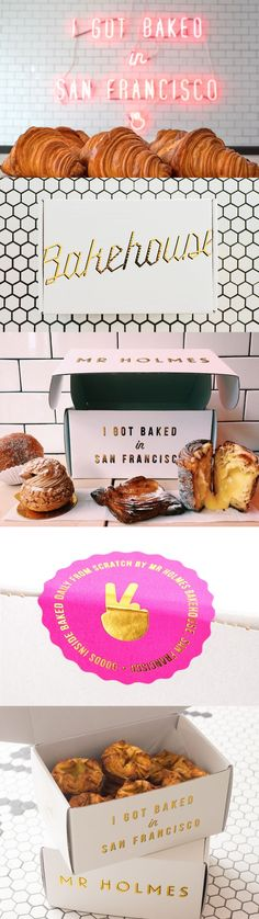 Mr Holmes Bakehouse Packaging Design: