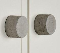 Tutoriale DIY: Cómo hacer tiradores de cemento vía DaWanda.com