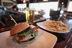 Turkey Burger http://www.thepubatch.com/ #thepub #turkey #burger #healthy #lean #protein #yummy #food #fries #beer #pubfood