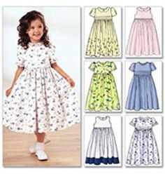 Items similar to Little Girls' Sunday Dress Pattern, Girls' Special Occasion Dress Pattern, Classic Dress Pattern, Butterick Sewing Pattern 3762 on Etsy Little Girl Dress Patterns, Dress Sewing Patterns, Little Girl Dresses, Girls Dresses, Coat Patterns, Blouse Patterns, Children's Dress Patterns, Kids Summer Dresses, Toddler Dress Patterns