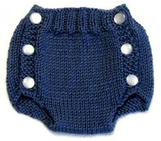 Diaper Cover Knitting Pattern - PDF - Small
