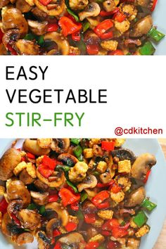 Easy Vegetable Stir-Fry Recipe | CDKitchen.com