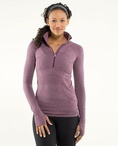 Streamlined Running Pullover from @lululemon athletica
