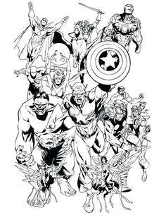 7 beste avengers marvel ausmalbilder zum ausdrucken kostenlos   superhelden malvorlagen, wenn