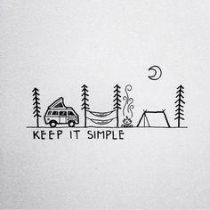 Keep it simple tattoo