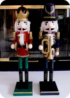 bliss bloom {blog} ~ a craft and lifestyle journal: [Make] Modern Nutcrackers