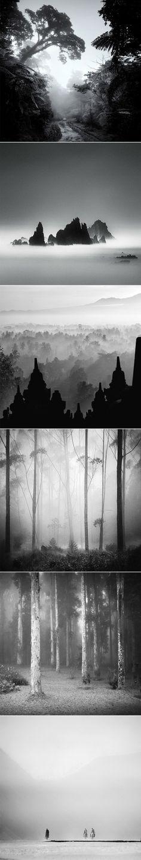 Photos noir et blanc par Hengki Koentjoro