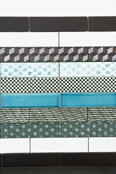 Tiles 260x65 Mm With Various Glazes And Patterns From Made A Mano