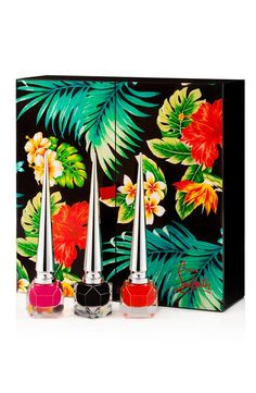 Christian Louboutin Wants You (and Your Nails) to Escape to a Tropical Paradise