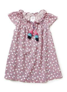 Baby Girls Dresses & Tunics | Ditsy Smock Dress | Seed Heritage