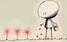 Yesterday is gone and its tale told. Today new seeds are growing. ~ Rumi ♥ Sew seeds of love. It can change the world. Reap What You Sow, Graffiti, Cute Date Ideas, Spread Love, Pics Art, Planting Seeds, All You Need Is Love, Love Heart, Art Gallery