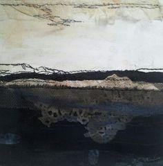 Dark Sands-Laura Edgar #textile art