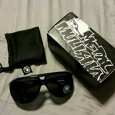 Metal Mulisha Aviator Gunner Sunglasses Brand new with box and black cloth case, never used Metal Mulisha  Accessories Sunglasses