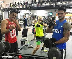 #Repost @soypablobrun Triple #training @powerclubpanama #machosqueserespetan @kevin_fernandez_23 @paulmcdonald09 #YoEntrenoEnPowerClub