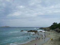Playa roca blanca oaxaca.