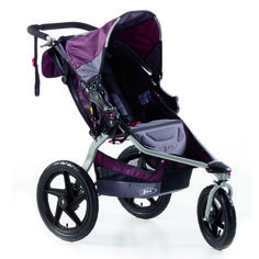 Stable, maneuverable jogging stroller: BOB Revolution SE (compatible with Britax B-safe car seat, or you can buy and adapter). 3 color options.