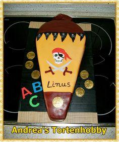 Schultüten Torte Pirat