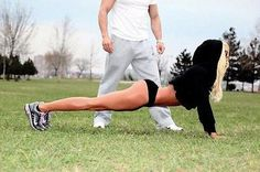 Maybe she should be training her personal trainer....