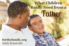 What does a father do? What are they to be? For each of us, this role in our lives is of supreme importance. Draw encourage my today from what God's word says fatherhood is (and isn't) all about.