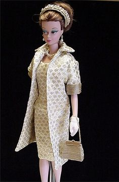 Silkstone ooak fashion gold