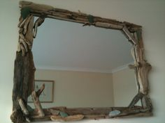 Driftwood mirror no. 1