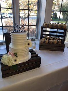 """We Still Do"" Wedding Cake at the Cameron Estate Inn"