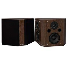 Fluance SXBPW High Definition Bipolar Surround Sound Wide Dispersion Speakers for Home Theater Satellite Speakers, Surround Sound Speakers, Theatre Reviews, Reptile Accessories, Video Home, Bipolar, Tv Videos, Home Theater, High Definition