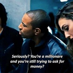 Millionaire quote from Fast & Furious 6 Gah, I laughed too hard at this part!