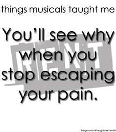 You'll See Why When You Stop Escaping Your Pain.