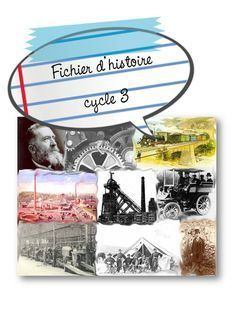 Histoire Cycle 3 - pleins de ressources : mots croisés, textes....