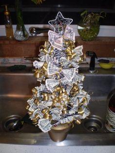 Money tree- great gift idea