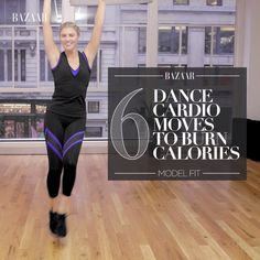 6 Dance Cardio Moves to Burn Calories
