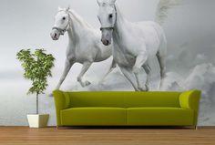 Fototapeta Kone 3201   Fototapety so zvieratami   TAPETYMIX Wall Murals, Horses, Colorful, Interior Design, Animals, Wallpaper Murals, Nest Design, Animales, Murals