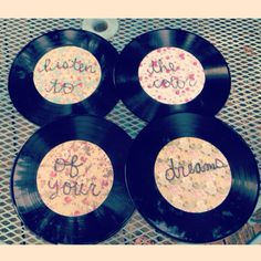 Cute idea for old records