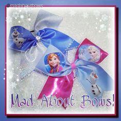 "by @madaboutbows ""A new #Frozen #CheerBow !!"" #cheerbows #beautiful #cheer #cheerleading #cheerleader #cheerleaders #allstarcheer #allstarcheerleading #cheerislife #bows #hairbow #hairbows #disneyland #hairaccessories #bigbows #bigbow #disney #fabricbows #hairclips #disneyworld #instafashion #grosgrainribbon #fashion #dance#ribbon #instacute#instacheer#snowman"