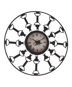 Love this Equestrian Wall Clock. Would be great in a stable or barn office