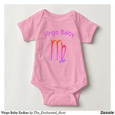 Virgo New Baby Star Sign Child Clothes Funny Baby Bib Gift Present Christening