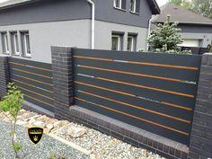 Front Yard Fence, Fence Gate, Fences, Garage Gate, Modern Fence Design, Compound Wall, Iron Gate Design, Sliding Gate, House Wall