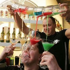 extreme bartending
