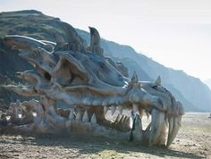"""Stella shivered as she looked up at the huge skeleton. """"It can't kill you when it's dead,"""" William said. """"Obviously, you don't find the fact that dragons are now loose in Syra intimidating."""" """"Not dead ones."""" """"I wonder how much one of those fangs are worth..."""" Arthur said."""