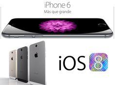 #iPhone6 Con un diseño impecable e innovador, nuestra pantalla más avanzada y nuevas funcionalidades, el iPhone 6 es mucho más que grande. #celulares #iphone #tugadgetshop http://www.tugadgetshop.com/celulares/apple/iphone-6-16gb-plateado_385.html